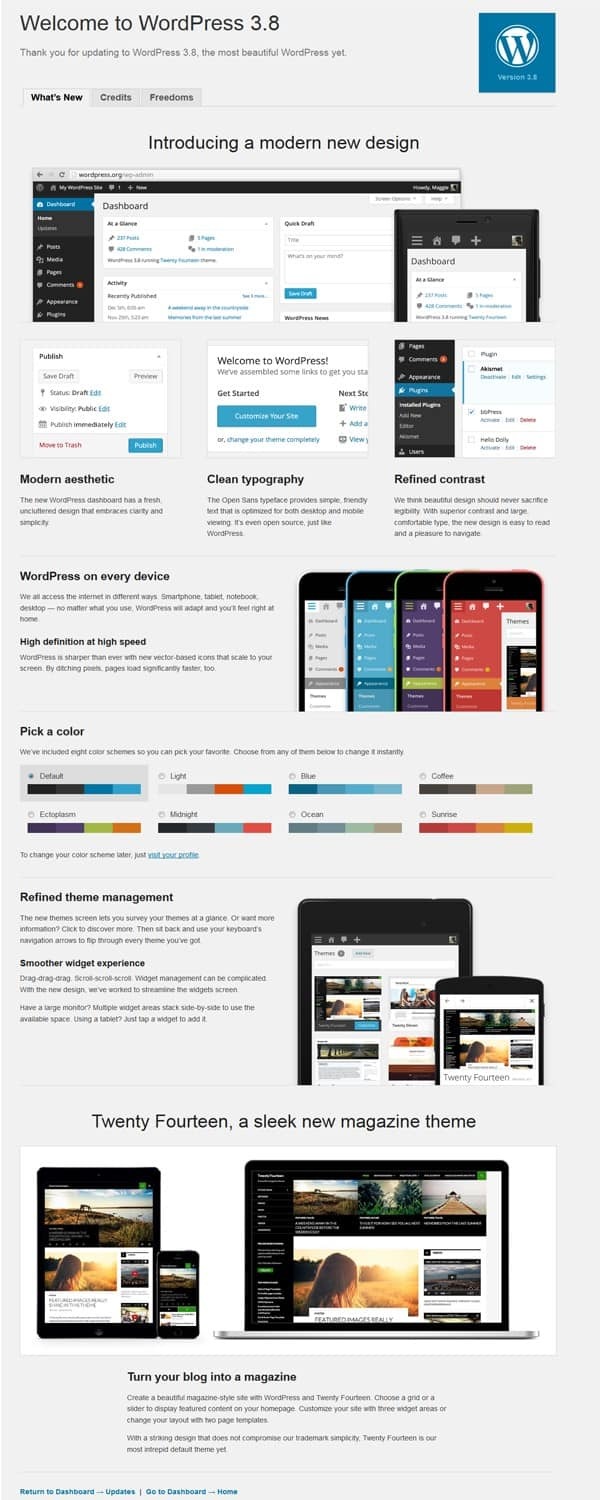 WordPress-3.8-Update-looks-flat-like-windows-8-mobile-and-ios7