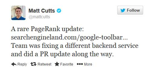 matt-cutts-twitter-pr-update-confirmed