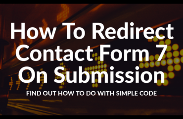 redirect contact form 7